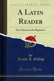 A Latin Reader - copertina