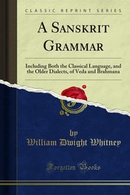 A Sanskrit Grammar - copertina