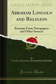 Abraham Lincoln and Religion - copertina
