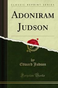 Adoniram Judson - copertina