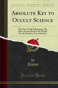 Absolute Key to Occult Science - copertina