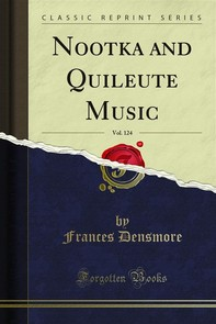 Nootka and Quileute Music - Librerie.coop