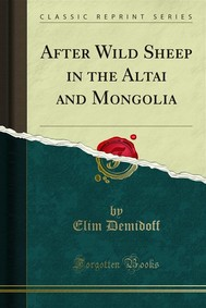 After Wild Sheep in the Altai and Mongolia - copertina