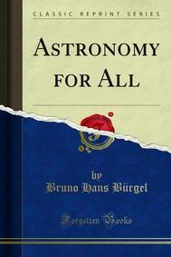 Astronomy for All - copertina