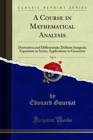 A Course in Mathematical Analysis - copertina