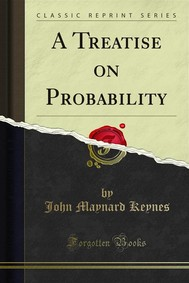 A Treatise on Probability - copertina