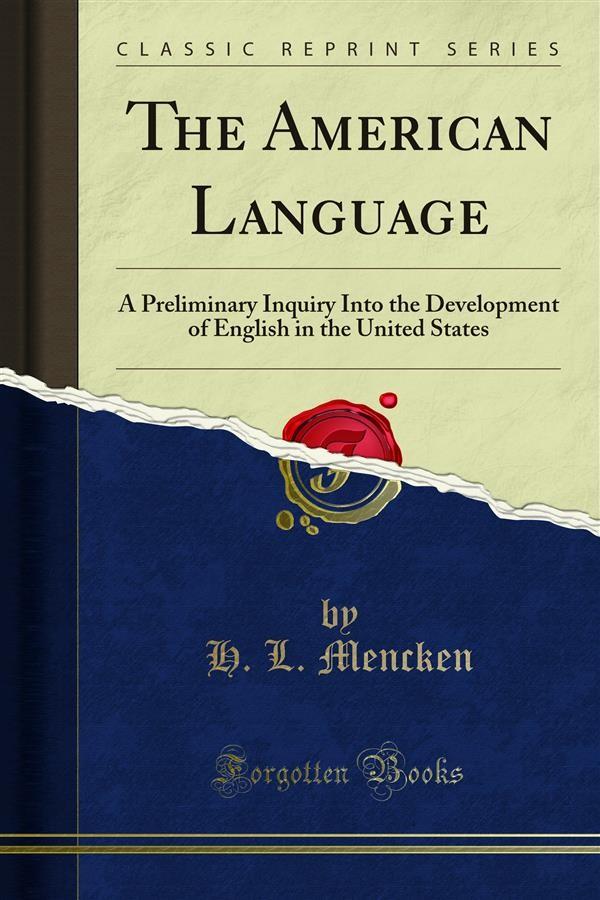 the american language mencken pdf