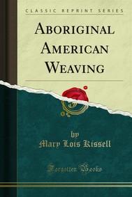 Aboriginal American Weaving - copertina