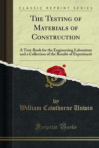 The Testing of Materials of Construction - Librerie.coop