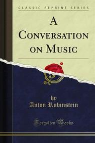 A Conversation on Music - copertina