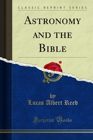Astronomy and the Bible - copertina