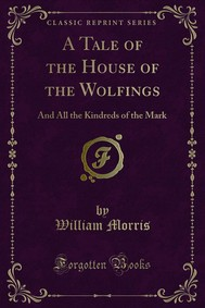 A Tale of the House of the Wolfings - copertina