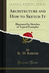 Architecture and How to Sketch It - copertina