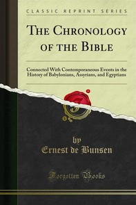 The Chronology of the Bible - Librerie.coop