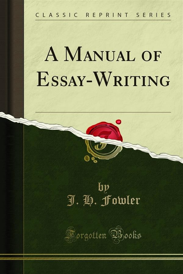 This little book about how to write a college level essay