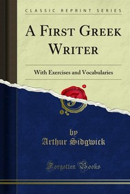 A First Greek Writer - copertina