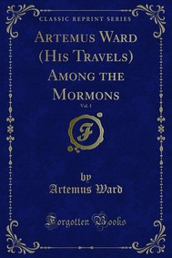 Artemus Ward (His Travels) Among the Mormons - copertina