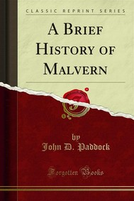 A Brief History of Malvern - copertina