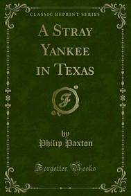 A Stray Yankee in Texas - copertina