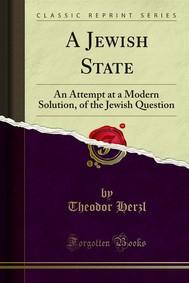 A Jewish State - copertina