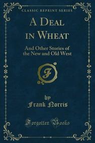 A Deal in Wheat - copertina