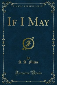 If I May - Librerie.coop