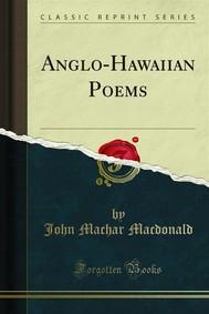 Anglo-Hawaiian Poems - copertina