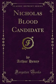 Nicholas Blood Candidate - Librerie.coop