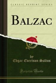 Balzac - copertina