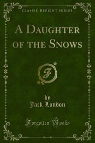 A Daughter of the Snows - copertina