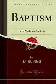 Baptism - copertina