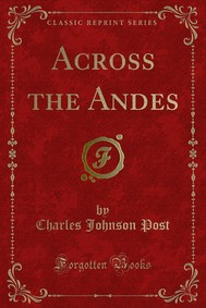 Across the Andes - copertina