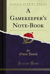 A Gamekeeper's Note-Book - copertina