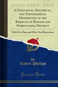 A Geological, Historical, and Topographical Description of the Borough of Reigate and Surrounding District - copertina