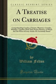 A Treatise on Carriages - copertina