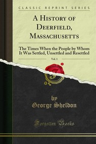 A History of Deerfield, Massachusetts - copertina