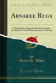 Abnakee Rugs - copertina