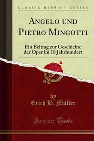 Angelo und Pietro Mingotti - copertina