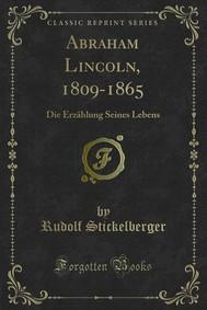 Abraham Lincoln, 1809-1865 - copertina