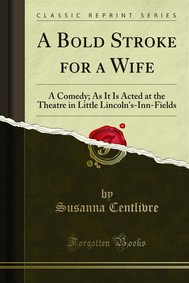 A Bold Stroke for a Wife - copertina