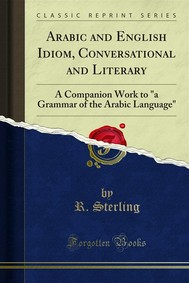 Arabic and English Idiom, Conversational and Literary - copertina