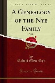 A Genealogy of the Nye Family - copertina
