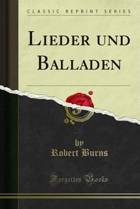 Lieder und Balladen - Librerie.coop
