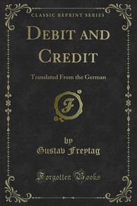 Debit and Credit - Librerie.coop