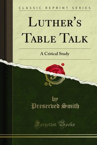 Luther's Table Talk - Librerie.coop