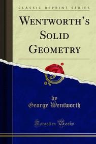 Wentworth's Solid Geometry - copertina