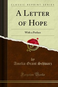 A Letter of Hope - copertina