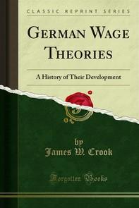 German Wage Theories - Librerie.coop