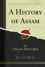 A History of Assam - copertina