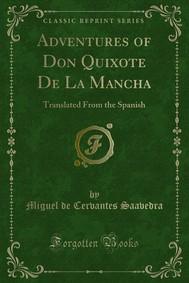Adventures of Don Quixote De La Mancha - copertina